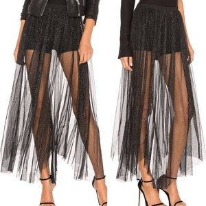 Free People Brightest Star Maxi Skirt Size XS